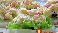 Pineapple Appetizers With Bacon, Pineapple Chunks, Brown Sugar Avocado Recipes, Salad Recipes, Healthy Recipes, Cold Appetizers, Appetizer Recipes, Bon Appetit, Seafood Recipes, Chicken Recipes, Food Network Recipes