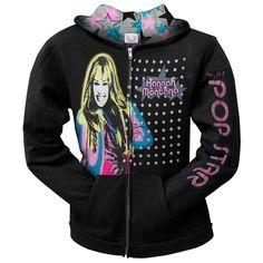 Hannah Montana - Airbrush Hannah Youth Hoodie