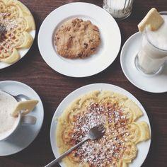 Waffles Coffee Sunday Afternoon Cookie Speisekammer Hamburg