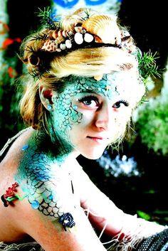 Love Beauty School Makeup Challenge...Taylor Scott...mermaid makeup
