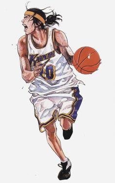 New basket ball ilustration slam dunk ideas Comic Manga, Anime Comics, Anime Manga, Manga Artist, Comic Artist, Basketball Manga, Slam Dunk Manga, Character Art, Character Design