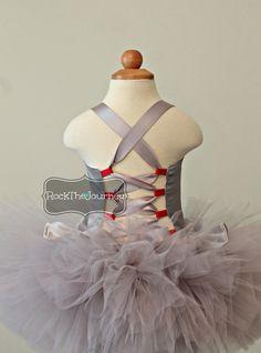 Tin Man Girl (Wizard of Oz) Tutu Outfit Costume