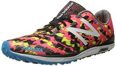 New Balance Womens 700v4 Track Spike Running Shoe PinkBlack 105 B US -- Check out the image by visiting the link.