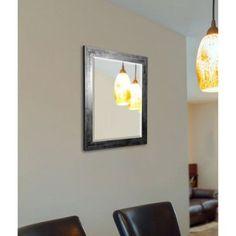 Rayne Black Smoke Wall Mirror, Multicolor
