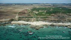 A Terceira Dimensão - Fotografia Aérea: Praia da Samoqueira