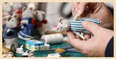 Miniatures - The Mice (How They're Made) — The Mouse Mansion