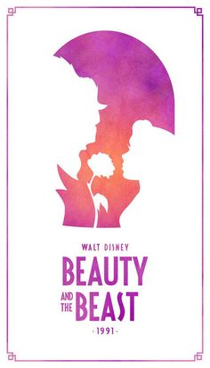 Beauty and the Beast Classic Disney Movie Posters - Created by Keith Bogan Disney Beauty And The Beast, Disney And More, Disney Love, Disney Magic, Disney Movie Posters, Film Disney, Disney Art, Disney Fantasy, Fantasy Movies
