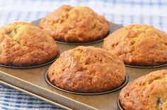 """Freezer Cooking Banana Oat Muffin recipe The """"A Matter of Taste"""" column in the March/April issue of Christian Woman features recipes that help you make the most of a busy day by cooking ahead … Banana Oat Muffins, Banana Oats, Cooking 101, Freezer Cooking, Breakfast Cake, Muffin Recipes, Nutella, Good Food, Snacks"""