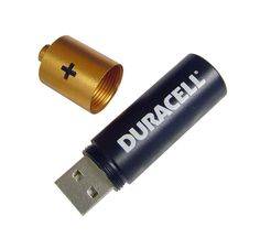 battery design flash drive
