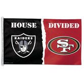 """Found it at Wayfair - Wincraft NFL """"House Divided"""" Flag"""