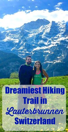 Dreamiest Hiking Trail in Lauterbrunnen Switzerland- You must see it to believe it!, TRAVEL, Lauterbrunnen is arguably the MOST Beautiful place in the world! Check out these tips for hiking the Jungfrau Loop Trail.the dreamiest hiking trail . Switzerland Itinerary, Switzerland Vacation, Murren Switzerland, Visit Switzerland, Pacific Crest Trail, Travel Destinations, Travel Tips, Travel Ideas, Travel Information