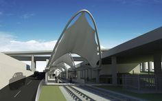 DFW Airport expects to sign an agreement in August with the Fort Worth Transportation Authority to build a TEX Rail station at Terminal B. Dfw Airport, Fort Worth, Transportation, Aviation, Building, Texas, Sign, Federal, Buildings