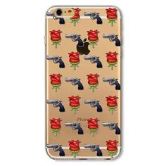Guns N' Roses IPhone Case ($8) ❤ liked on Polyvore featuring accessories, tech accessories, iphone cover case and iphone sleeve case