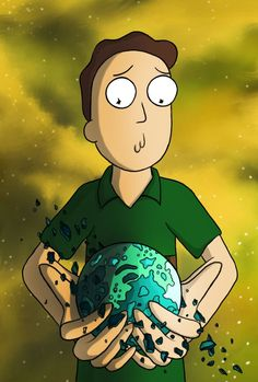 Rick and Morty x Jerry Smith