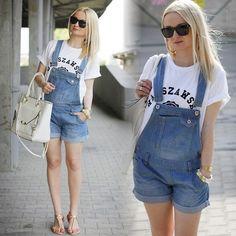 Quần yếm đang trở thành mốt mùa hè này, đặc biệt là những kiểu quần yếm xì tin dễ thương, đáng yêu. http://webphunu.net/tin-tuc/da-phong-cach-cung-mot-quan-yem-xi-tin-2013-22830