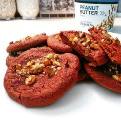 Zdravé fitness cookies z červené řepy Healthy Desserts, Raw Food Recipes, Cookie Recipes, Healthy Recipes, 20 Min, Salmon Burgers, Cookies, Ethnic Recipes, Health Desserts