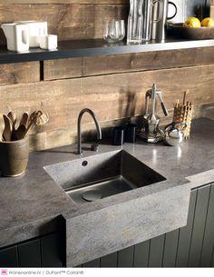 DuPont™ Corian® vernieuwt en breidt haar collectie uit van kant-en-klare spoelbakken voor de keuken. #design #keukens #keukeninspiratie