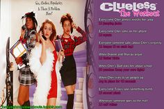 Clueless Workout!  Want to see more workouts like this?  Follow us here for your favorite movies and tv shows! We take requests, too!