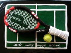 Tennis Cake   Flickr - Photo Sharing!