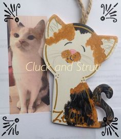 Your Cats-Hand Painted/Personalized & Customized by CluckandStrut