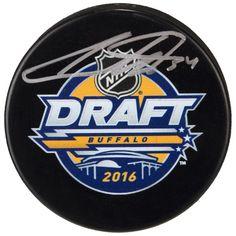 60491acee Auston Matthews Toronto Maple Leafs Fanatics Authentic Autographed 2016 NHL  Draft Logo Hockey Puck #TorontoMapleLeafs