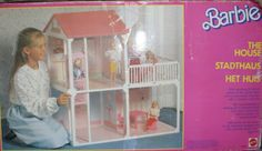 AMAZING-VINTAGE-BARBIE-HOUSE-80S-ULTRA-RARE-COLLECTIBLE-HUGE-RARE-MATTEL-TOY