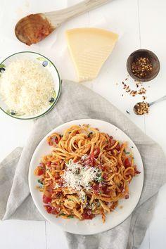 Parsnip Spaghetti Al