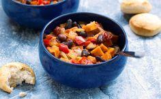 Chili de Patate-douce / Sweet Potato Chili #vegan #glutenfree  @VegNews #vegnews @Mj0glutenVG #0GlutenVegeBrest   #vegetalien #govegan #Chili #Patatedouce #SweetPotato