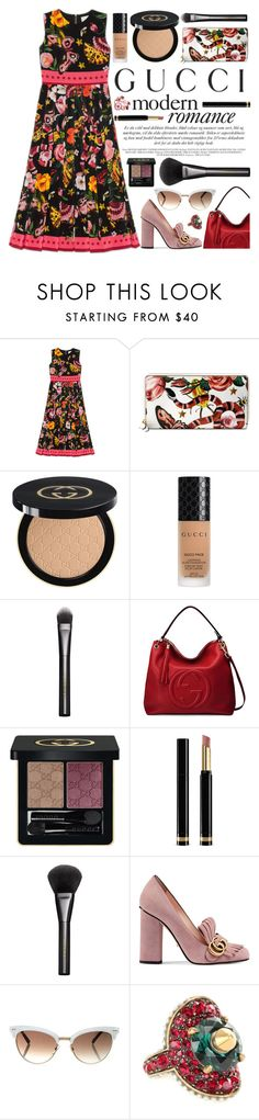"""Presenting the Gucci Garden Exclusive Collection: Contest Entry"" by vazsu ❤ liked on Polyvore featuring Gucci and gucci"