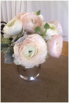 Valentine's Ranunculus By Sparkle and Hay Wedding Blog