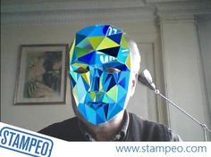 Augmented Reality Face Tracking Glass Mask #augmentedreality #facetracking