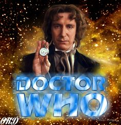 """Doctor Who 50th Anniversary - Eighth Doctor"" Posters by Oliver Kidsley 