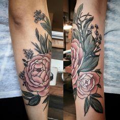 Instagram Boho Tattoos, Unique Tattoos, Beautiful Tattoos, Flower Tattoos, Beautiful Body, Time Tattoos, Tattoo You, Body Art Tattoos, Mastectomy Tattoo