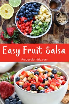Looking for a simple appetizer that both kids and adults will go crazy over? Then you need to add fruit salsa to your shopping list today!