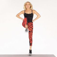 Day 6 - 30-day Challenge: 3 Easy Cardio Moves You Can Do Anywhere /Tracy Anderson for Health Magazine/