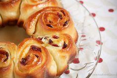 Mandarin Orange Cranberry Sweet Rolls Recipe