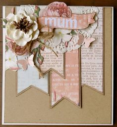 Image result for shabby chic mother's day card
