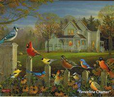 "The Art of Sam Timm ""Fenceline Chatter"""