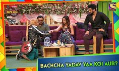 Did Bachcha Yadav get down on his knees for the gorgeous Ileana D'cruz or is it somebody else? Unfold the story behind it on #TheKapilSharmaShow tonight at 9 PM. Kapil sharma Kiku Sharda Sumona Chakravarti Chandan Prabhakar #fashion #style #stylish #love #me #cute #photooftheday #nails #hair #beauty #beautiful #design #model #dress #shoes #heels #styles #outfit #purse #jewelry #shopping #glam #cheerfriends #bestfriends #cheer #friends #indianapolis #cheerleader #allstarcheer #cheercomp…