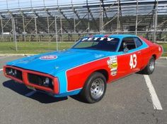 Richard Petty Cars by Year   ... Dodge Charger Richard Petty 43 Car -- The King Lives ! on 2040-cars