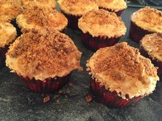 Apple Crumble Cupcakes - Brookers of Blunty's