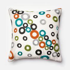 Multi Square P0100 Pillow | Rug &amp