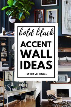 100 Black Accent Walls Ideas In 2021 Black Accent Walls Accent Wall Colors Home Decor