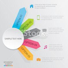 Diagram Social Media. Royalty Free Stock Vector Art Illustration