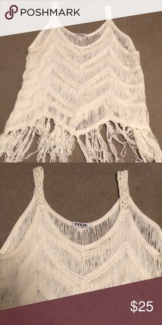 Never worn, great condition Make me an offer rengo Tops Tank Tops Crochet Top, Conditioner, Tank Tops, How To Make, Closet, Things To Sell, Style, Swag, Halter Tops