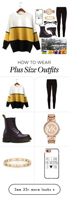 """""""All I want for Christmas is you"""" by tanvi200 on Polyvore featuring Dr. Martens, Casetify, Tiffany & Co. and Michael Kors"""