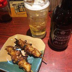 アブラタレ 植むら #小岩  #ホッピー  #hoppy #金宮 #金宮焼酎  #ホルモン #肉 #もつ焼き #izakaya #居酒屋 #ビール #beer #beers #飲み #酔っ払い  #sake  #酒 #串焼き #beerstagram #foodporn #instabeer #beerporn #foodstagram #instafood #japanesefood