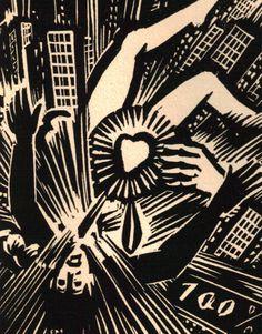 Frans Masereel. Notre Temps. 1952.