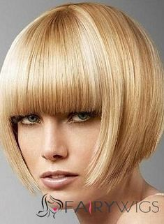 Shop our online store for blonde hair wigs for women.Blonde Wigs Lace Frontal Hair Blonde Heat Resistant Wig From Our Wigs Shops,Buy The Wig Now With Big Discount. Real Hair Wigs, Short Human Hair Wigs, Medium Hair Cuts, Medium Hair Styles, Short Hair Styles, Blonde Wig, Short Blonde, Frontal Hairstyles, Bob Hairstyles