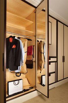 Stylish wardrobe at The Mark Hotel, New York